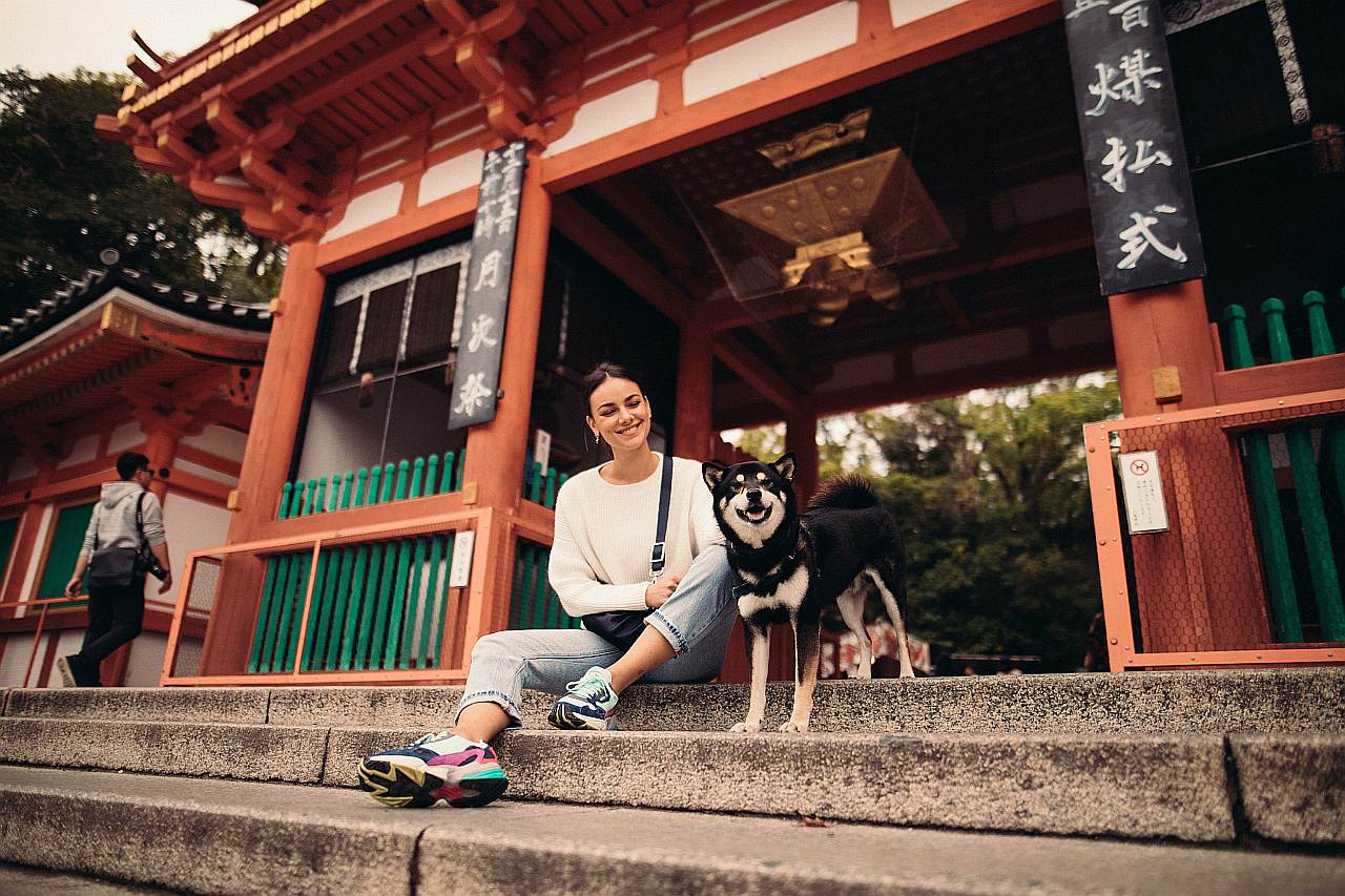 Reise mit Hund in Japan